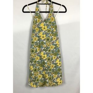 Old Navy Summer floral Halter Dress Size 4